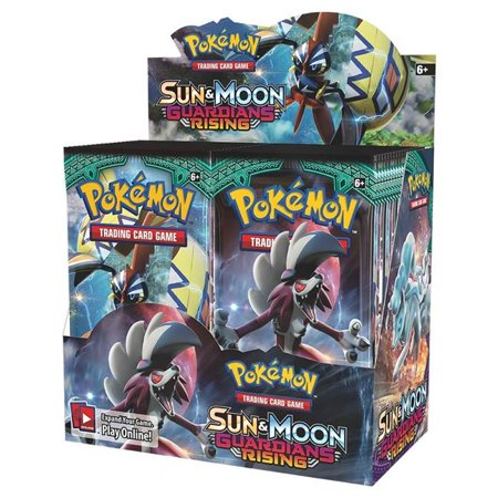 Pokemon Sun and Moon: Guardians Rising Booster Box, 36-Count
