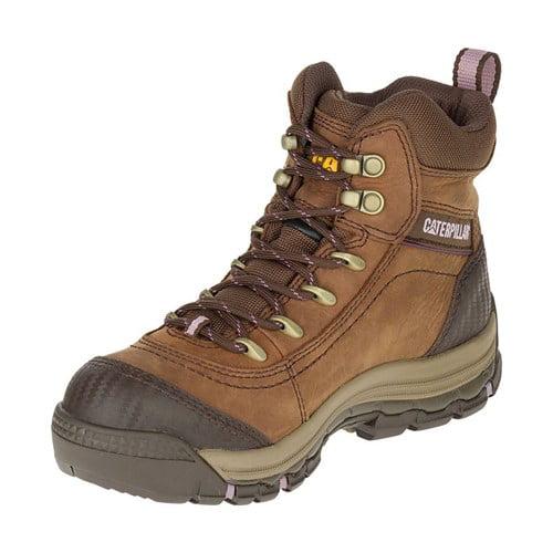 CAT Footwear Ally 6 Inch - Brown 7.5(M) Ally 6 Inch Waterproof Womens Work Boot