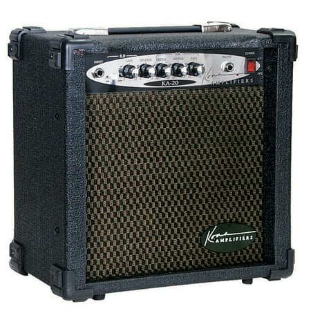 - Kona KA20 20-Watt 2 Channel Guitar Amplifier With 8-Inch Speaker, Headphone Jack And Overdrive