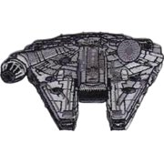 Superheroes Star Wars Millennium Falcon Embroidered Iron/Sew-on Applique Patches
