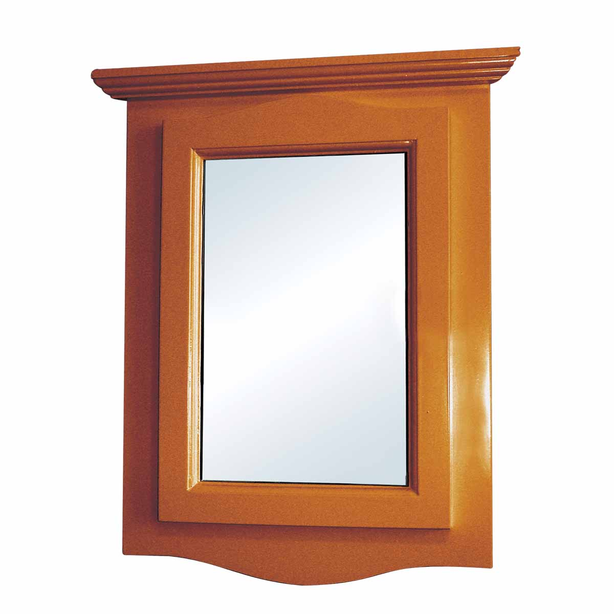 mirrors for bathrooms renovator s supply golden oak hardwood corner wall mount 13102