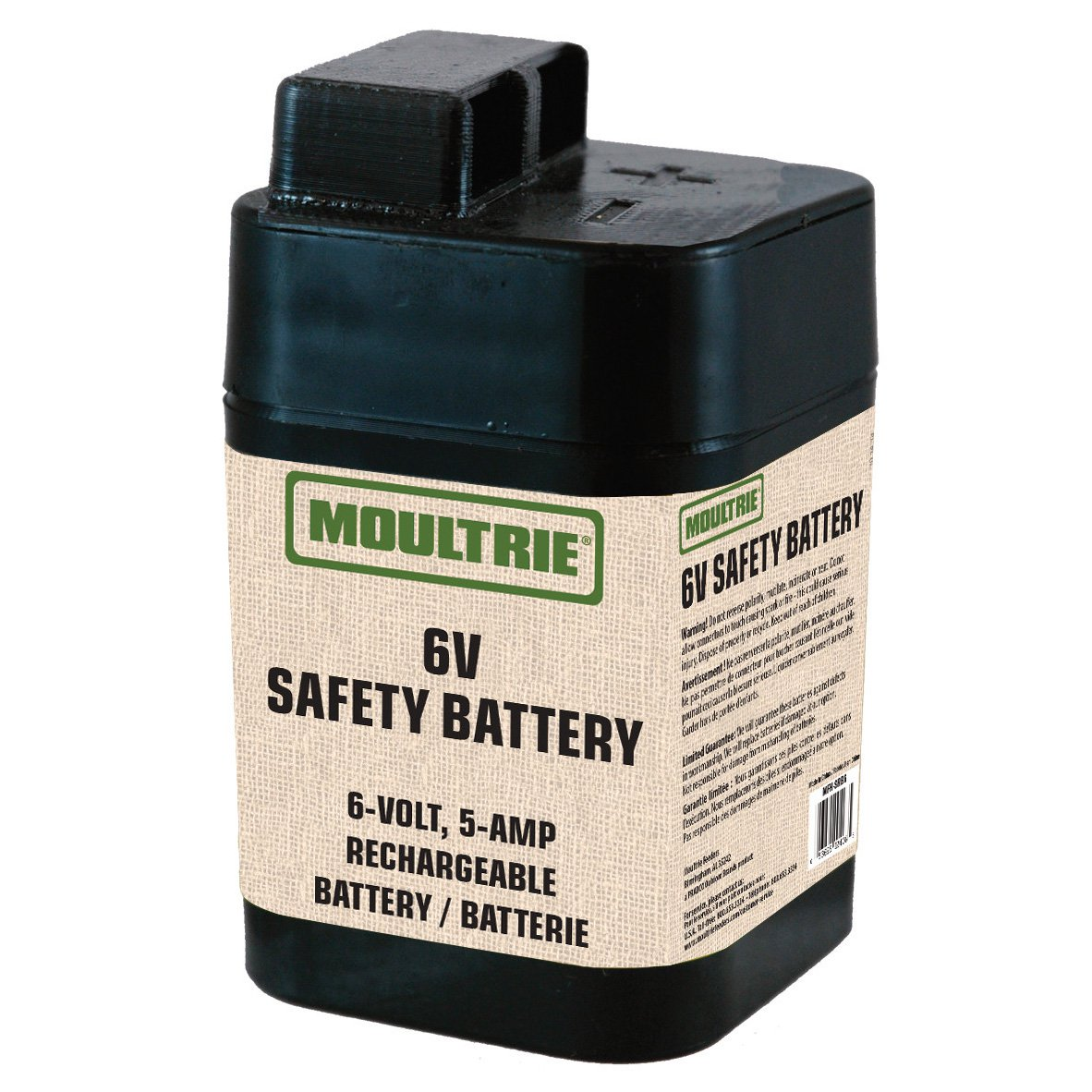 Moultrie 6 Volt Rechargeable Safety Battery for Automatic Deer Feeders MFHP12406