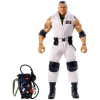 WWE Ghostbusters The Rock Elite Collection Action Figure