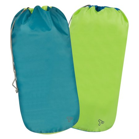 Travelon Ultra-Lightweight Packable Ripstop Stuff Sacks, Set of 2 ()