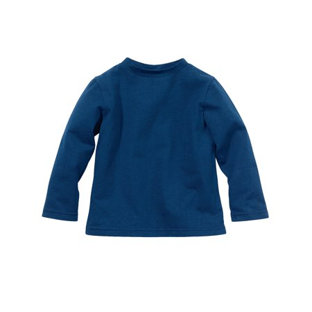 Bug Smarties Toddler Boy Long Sleeve Tshirt - Insect Shield Bug Repellent Technology - Better Than Bug Spray - Navy Blue](Navy Blue Suits For Boys)