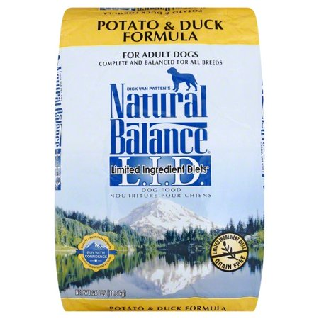 Natural Balance Limited Ingredient Grain-Free Potato & Duck Dry Dog Food, 26