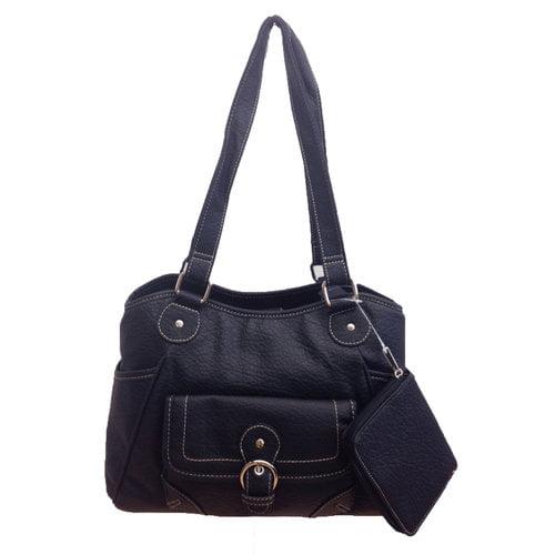 George Outback 4-Poster Handbag, Blueberry