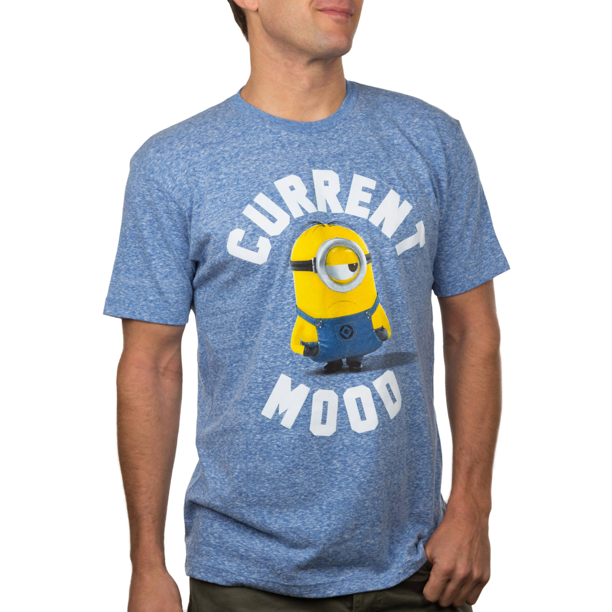 Minions Current Mood Big Men's Graphic Tee