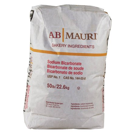 Ab Mauri Baking Soda Sodium Bicarb, 50 Pound (1 Pack)