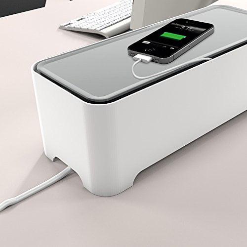 E-BOX – Power Cable Box for Desk & TV & Computer | Cable ...