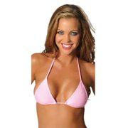 Roma RM-Top 3 Triangle Top, many colors O/S / Hot Pink
