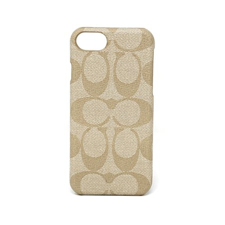 Coach Signature Coated Canvas Phone Case for iPhone 8 / iPhone 7 (Ivory) ()