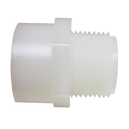 CBH3434BG1 0.75 x 0.75 in. FHT - MPT Nylon Adapter - pack of 5 - image 1 de 1