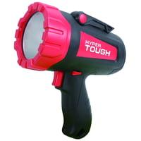 Hyper Tough 300-Lumen Battery Powered Rechargeable LED Spotlight Flashlight