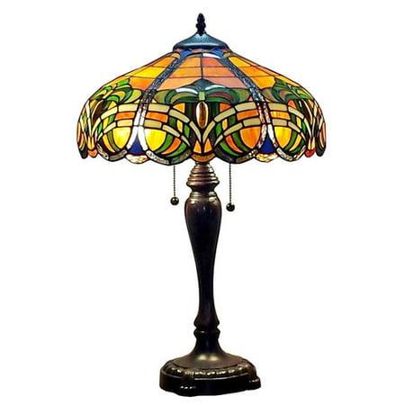 tiffany am1071tl16 baroque table lamp