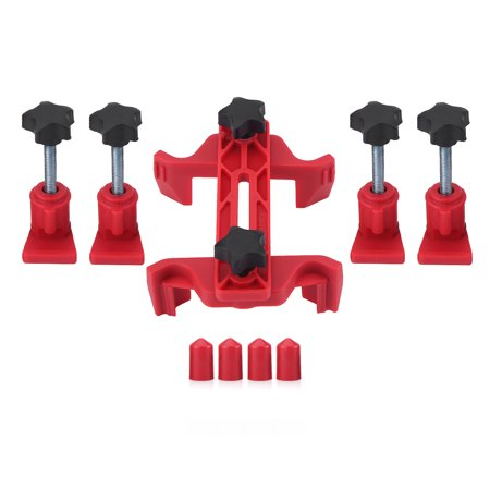 Car Auto Dual Cam Clamp Camshaft Engine Timing Sprocket Gear Locking Tool Kit 9Pcs (Cam Gear Tool)