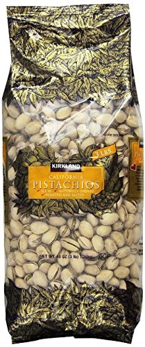 Kirkland In Shell Pistachios 3lbs ( 2 Bags) by