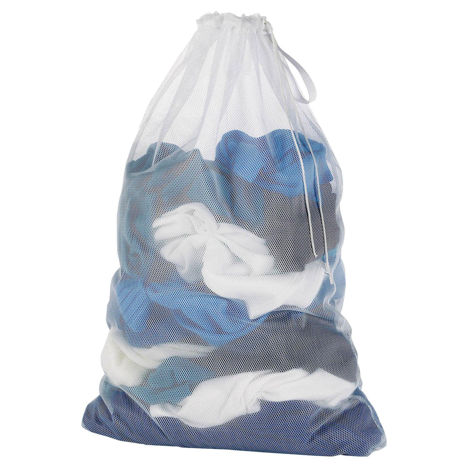 Whitmor Mesh Laundry Bag White