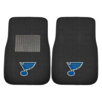 NHL St Louis Blues Embroidered Car Mats