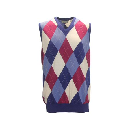 Argyle Golf Vest - McIlhenny Argyle Golf Vest by Tabasco,  Brand NEW -