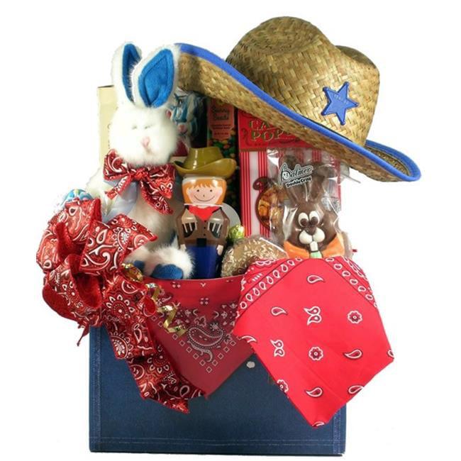 Gift Basket Drop Shipping YeHa-Lg YeeHaw, Cowboy Themed Easter Basket