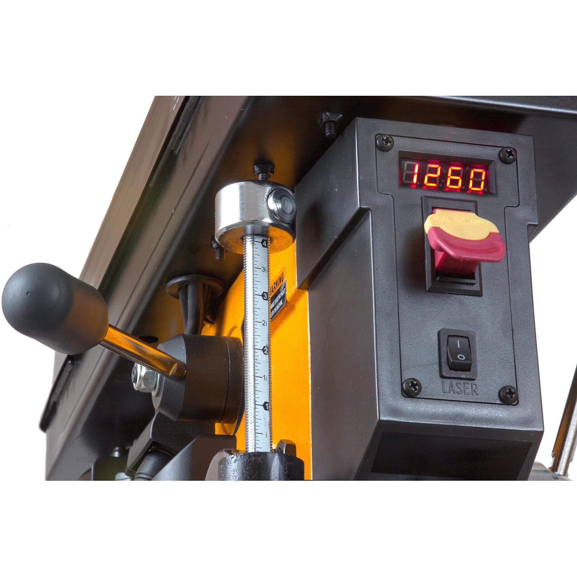 "wen 8.6a variable speed floor standing drill press, 15"" - walmart"