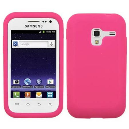 Samsung R820 Galaxy Admire 4g Mybat Solid Skin Cover Hot Pink