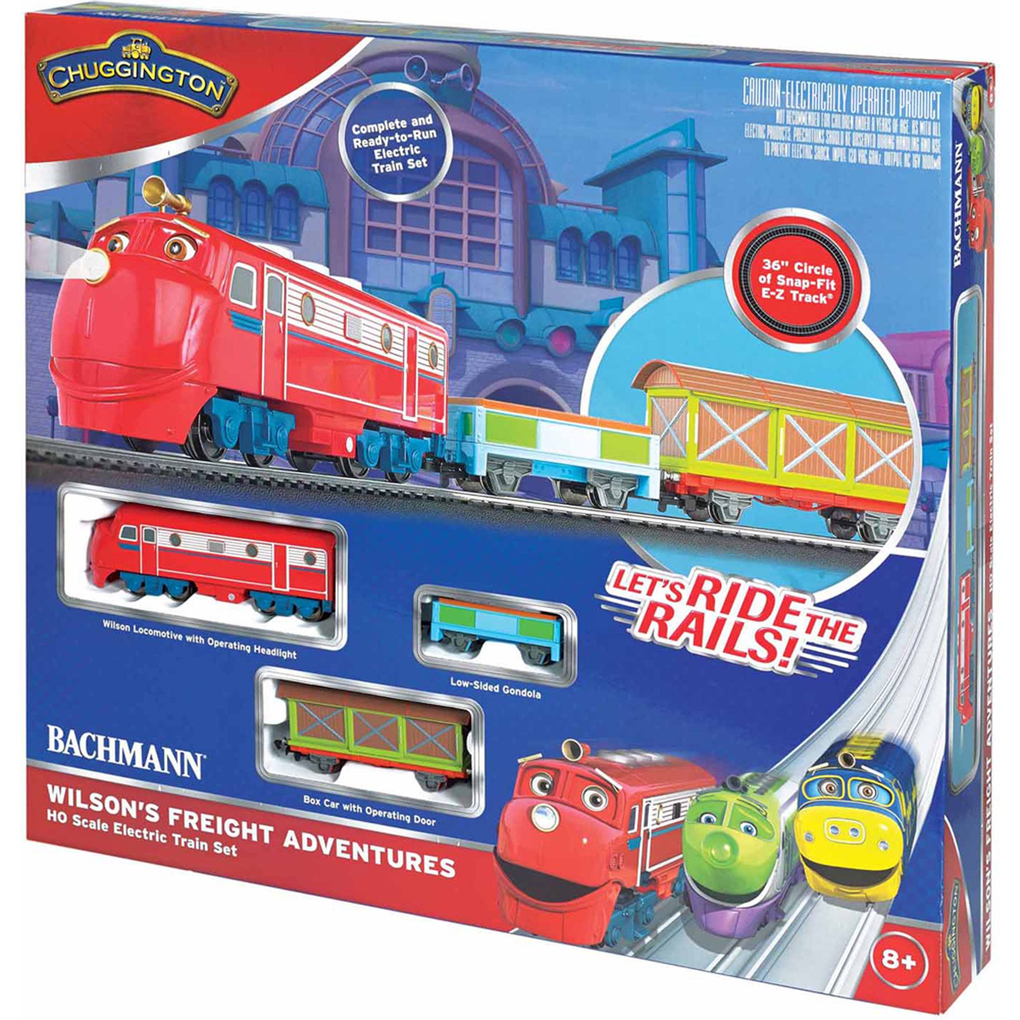 Bachmann Trains Chuggington Wilson's Freight Adventures, HO Scale Ready-to-Run Electric... by Bachmann Trains