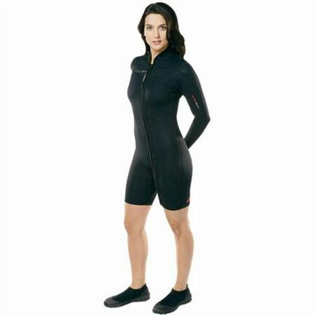 Henderson Woman Thermoprene Long Sleeve Shorty / Jacket (Front Zip) 3mm Scuba (Henderson Jacket)