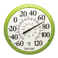 Taylor Precision Products 6700gr Thermometer Green
