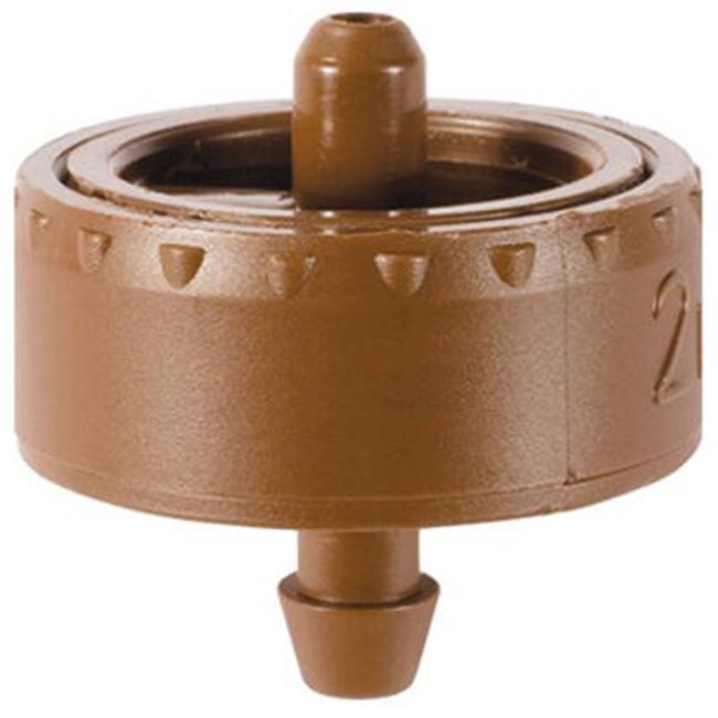 Dig W2205B .5 gph Button Dripper - 25 Pack, Brown - image 1 of 1