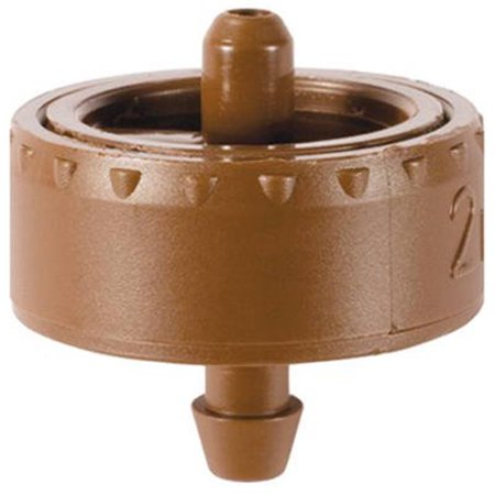 W2205B .5 gph Button Dripper - 25 Pack, Brown