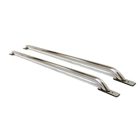 Big Country Truck Accessories 10784 Big Country Stake Pocket Bed Rails. No Drilling Required. Stainless Steel