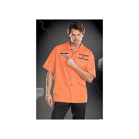 Dreamgirl Inmate Ken B Crazy Costume 7615 Orange XX Large, XX Large for $<!---->