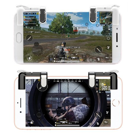 Mobile Game Fire Button Aim Key Gaming Trigger L1R1 Shooter Controller for PUBG - image 4 de 8