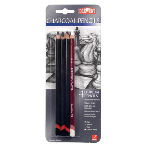 Wood cased Charcoal Pencils