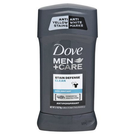 Dove Men+Care Stain Defense Clean 48-Hour Antiperspirant & Deodorant Stick - 2.7oz
