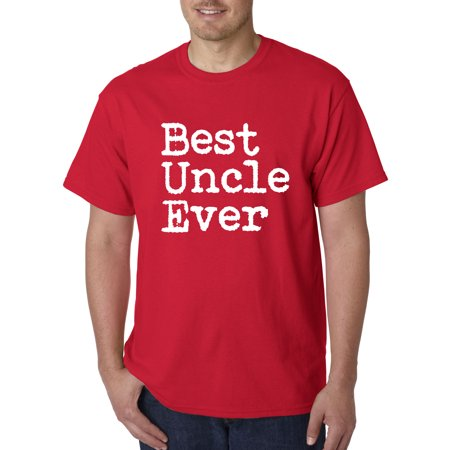 1077 - Unisex T-Shirt Best Uncle Ever Family