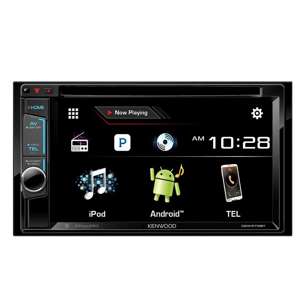 "Kenwood DDX373BT 2-DIN Car Stereo DVD Bluetooth Receiver w  6.2"" VGA LCD Display by Kenwood"