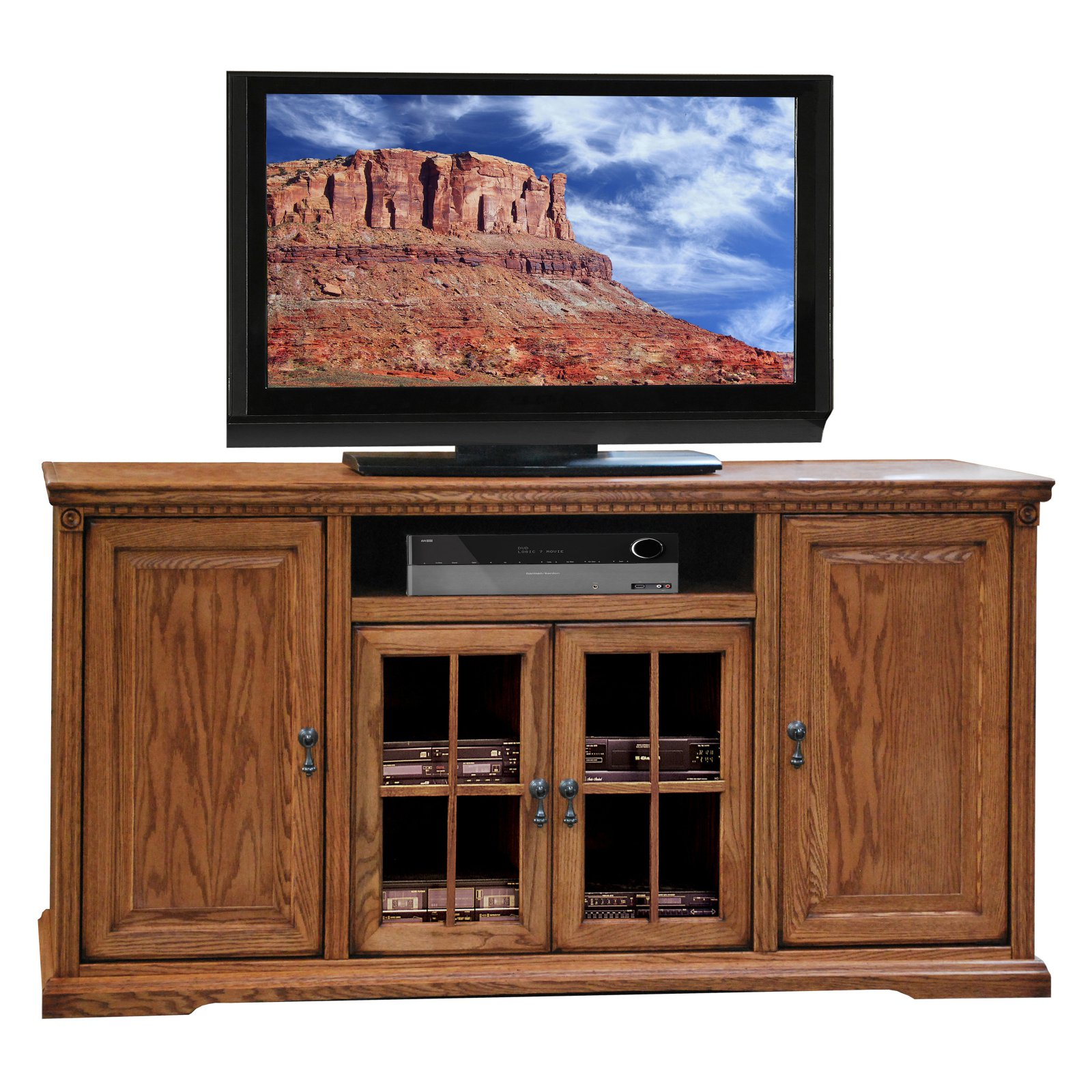 Legends Scottsdale 64 in. TV Console - Rustique