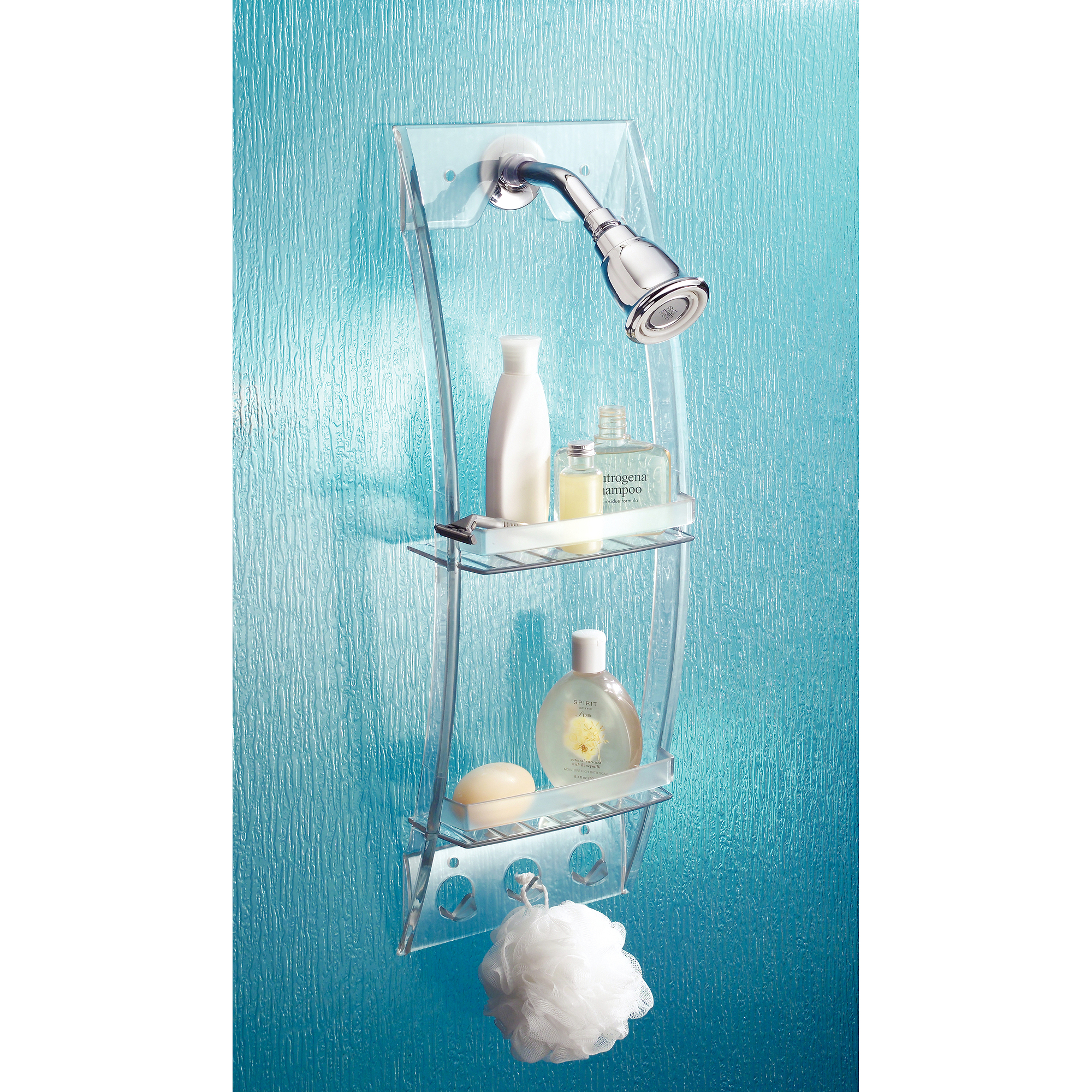 InterDesign Shower Caddy Suction - Walmart.com