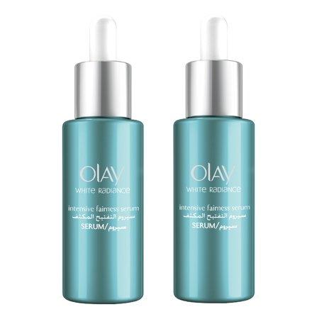 Omorovicza Radiance Renewal Serum - Olay White Radiance Advanced Whitening Intensive Fairness Serum, 40 ml (1.3 Oz) (Pack of 2) + Yes to Coconuts Moisturizing Single Use Mask