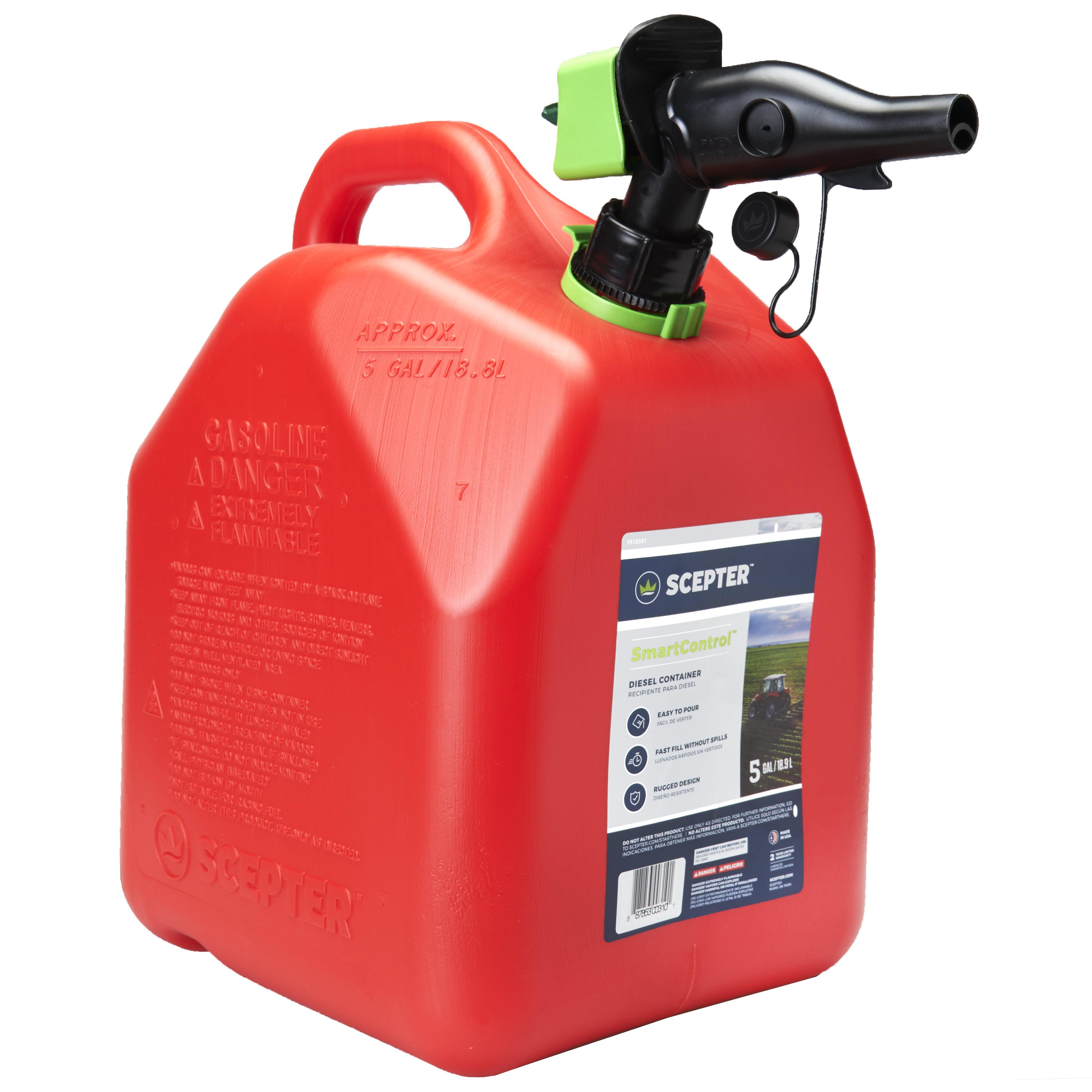 Gasoline Can Plastc 5gal