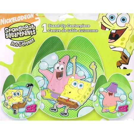 Spongebob Centerpieces (SpongeBob SquarePants 'Bubbles' Stand-Up Centerpiece)