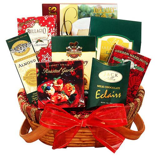 Alder Creek Sweet & Savory Holiday Gift Basket, 8 pc