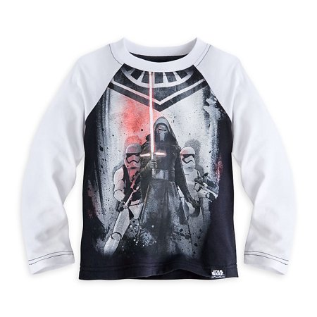 Disney Store Kylo Ren Star Wars: The Force Awakens Baseball Tee for Kids](Kids Online Stores)