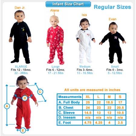 669c47b86 Footed Pajamas - Footed Pajamas - Creamsicle Infant Hoodie Fleece ...