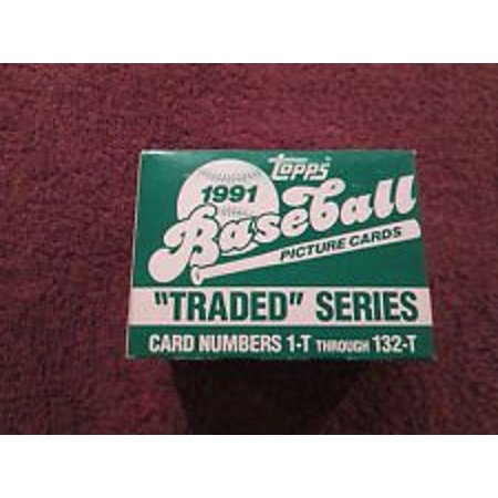 1991 Baseball Traded Factor Set 132 Cards! Rookie Cards of: Ivan Rodriguez, Jason Giambi, Jeff Bagwell, Charles Johnson, Luis Gonzalez, Complete Set By Topps Ship from - 1991 Pacific Card