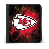 KANSAS CITY CHIEFS ZIPPER BINDER