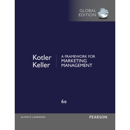 A Framework for Marketing Management (Paperback)